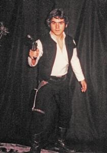 Dean as Han Solo Oct. 29, 1977