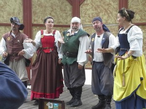 Bounding Main at the Bristol Renaissance Faire.  Pic by Virginia Schuh.
